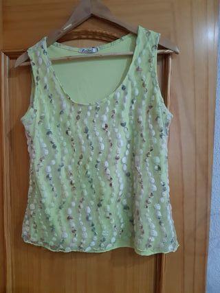 Camiseta mujer de tirante talla 48/50