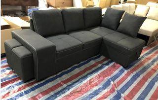 Sofá-cama chaise-longue (STACY)