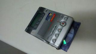 Reproductor y grabador Mini Disc SONY