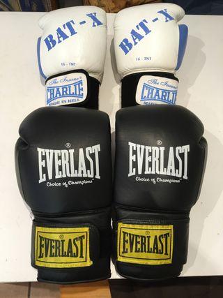 Guante boxeo Charlie y Everlast
