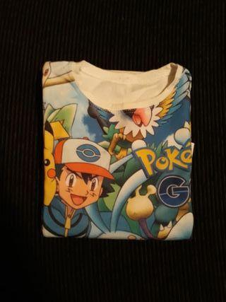 Camiseta manga larga Pokémon