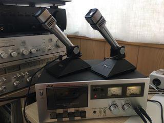 Microfono akai acero de los 70s UM-101