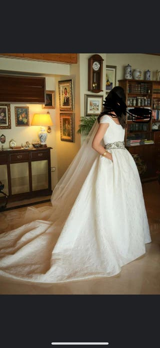 Vestido novia Navascues