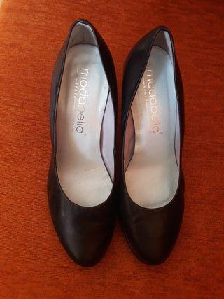 Zapatos negros N°37