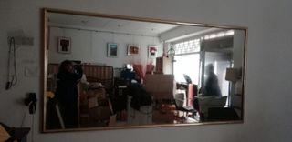 espejos mural grande y pequeño