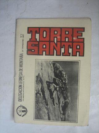 revista Torre Santa nº 2 Escalada Montañismo 1987