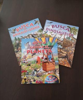 """Libros infantiles """"Busca"""""""