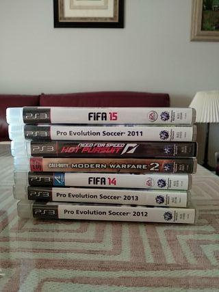 Juegos PS3 a 5€ cada uno (negociable)