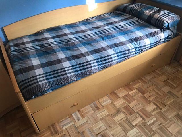 Cama nido+ mobiliario juvenil. SUPER OFERTA!!!