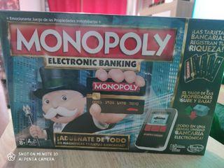 MONOPOLY ELECTRONIC BANKING. PRECINTADO.