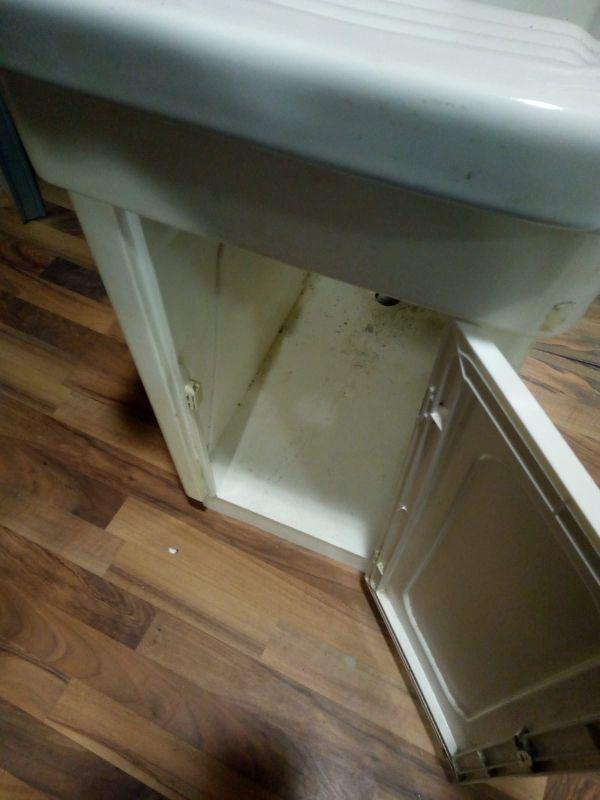 lavadero exterior con mueble !