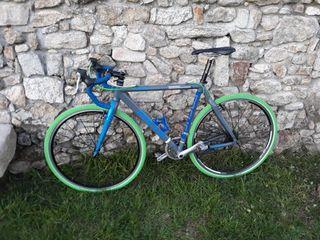 bici ciclocross, gravel, fixie