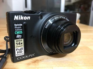 Camara Nikon Coolpix S8200 IMPECABLE!!!