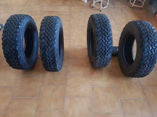 Neumáticos todoterreno 4x4