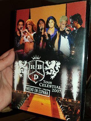 CD TOUR CELESTIAL 2007 RBD