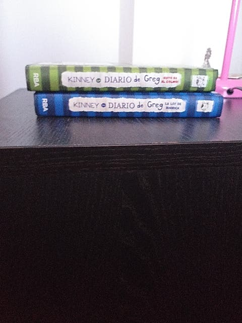 diario de greg 2 libros