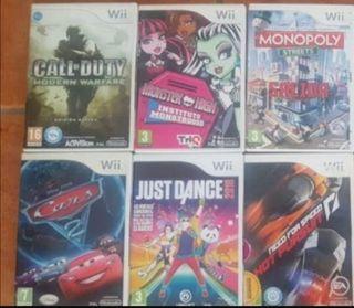 Lote Juegos Wii Nintendo