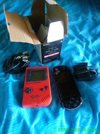 PsP3000 y GameBoy