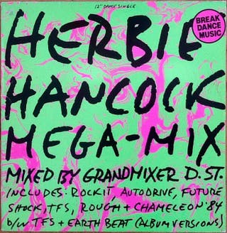 """HERBIE HANCOCK """"MEGA-MIX"""" maxi-12"""""""