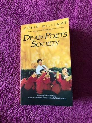 """Libro """"Dead Poets Society"""""""