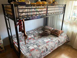 Litera Sofá cama de matrimonio