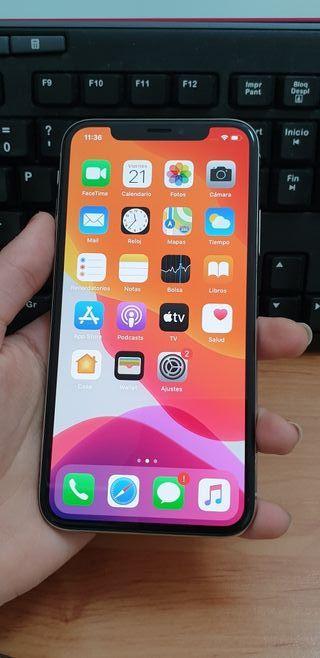 Iphone X 64gb plata original