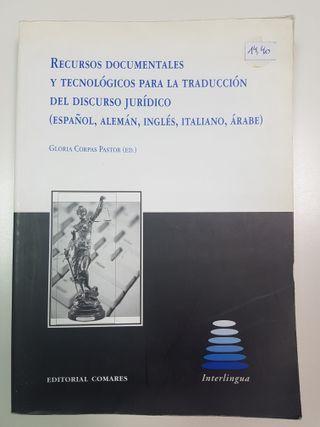 Recursos para la traducción del discurso jurídico
