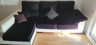 Sofá Chaise Longue tela