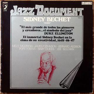 "SIDNEY BECHET ""SESSIONS"" LP"
