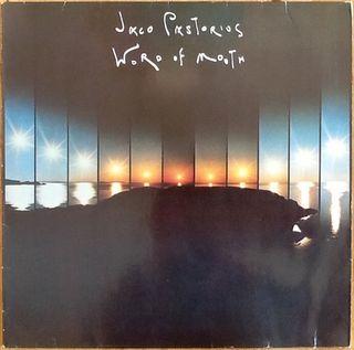 "JACO PASTORIUS ""WORD OF MOUTH"" LP"