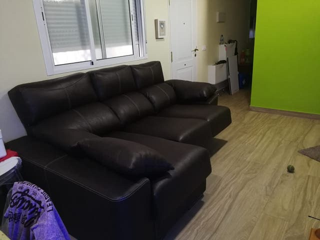 sofá chaiselongue con arcón, grande
