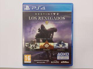 JUEGO PS4 DESTINY 2 LOS RENEGADOS