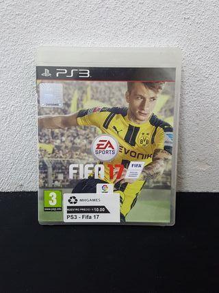 Juego FIFA 17 PS3