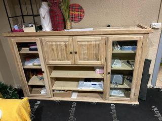Aparador madera natural 2.00x1.20x0,45