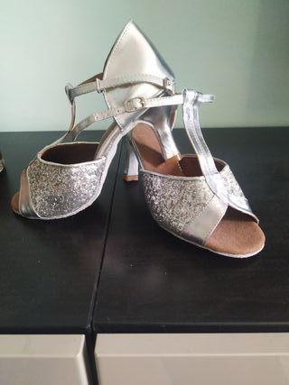 zapatos de baile bachata