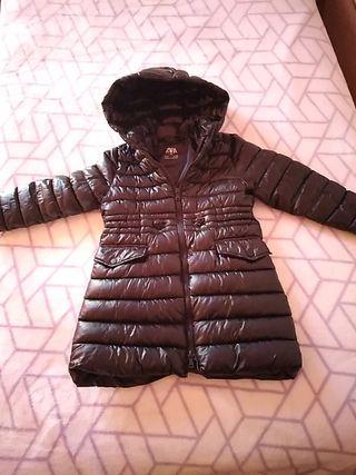 abrigo niña talla 6 de Zara