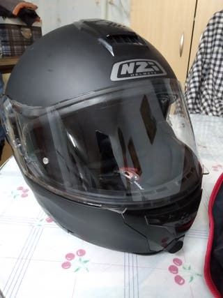casco integral abatible nzi combi duo