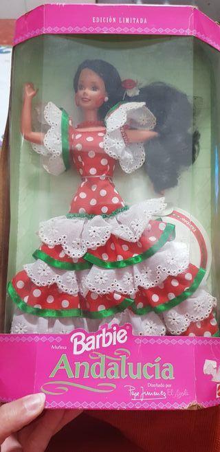 Barbie colección Andalucia