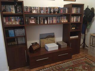Mueble TV y librería
