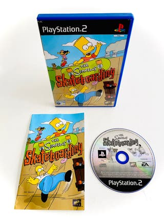THE SIMPSONS SKATEBOARDING - ps2