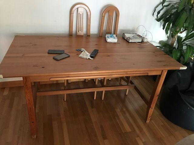 Mesa madera salon