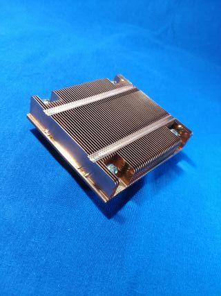 Disipador de cobre para socket 775 para PC