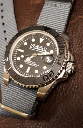 reloj Leonidas submarinismo