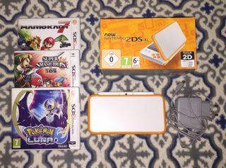 New Nintendo 2DS XL + 3 juegos
