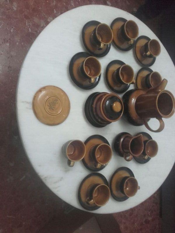 juego de café de 14 piezas