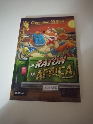libro un ratón en África