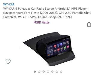 Navegador GPS Ford Fiesta (2009-2012)