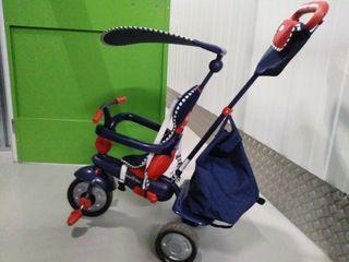 sillita con pedales para niñ@s
