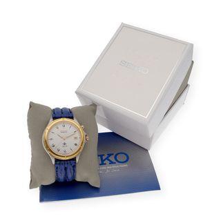 Seiko Kinetic Reloj de Pulsera de Hombre Vintage
