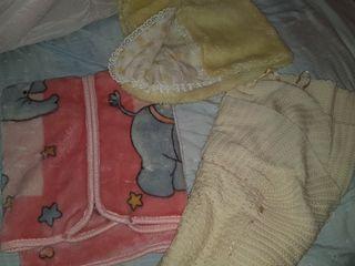 se regala manta bebé